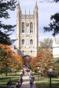 Memorial Union locatred on the University of Missouri Campus